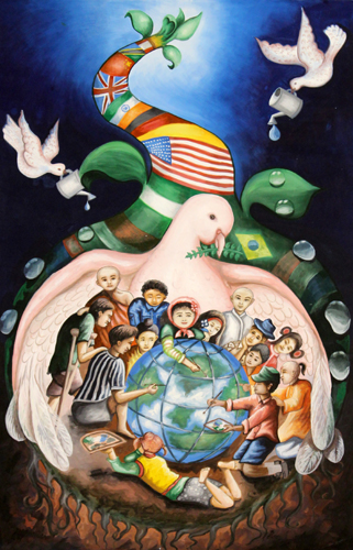 International Peace Poster Contes